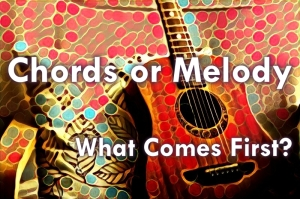 chords or melody, what comes first; chords; melody; music theory; songwriting tips; songwriting; music process; beyond music theory; online music lessons